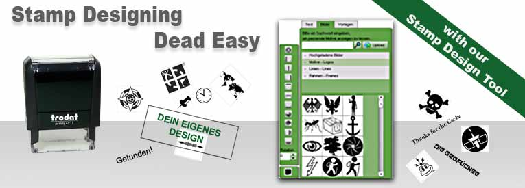 Design your own Geocaching Stamp