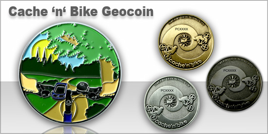 Cache'n'Bike Geocoin