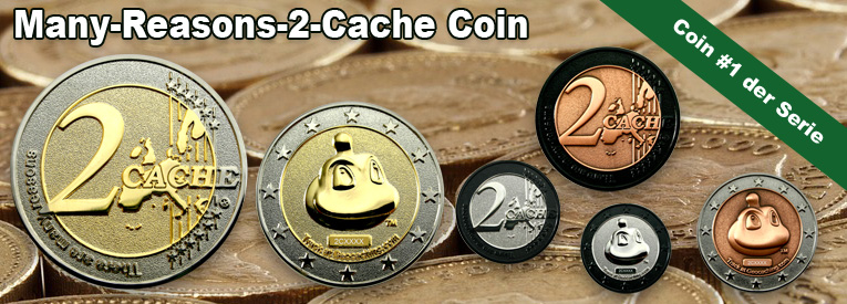Many Reasons 2 Cache Coin