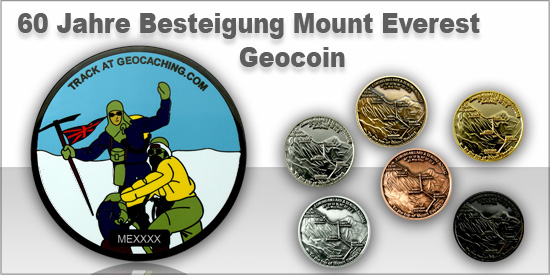Mount Everest Geocoin