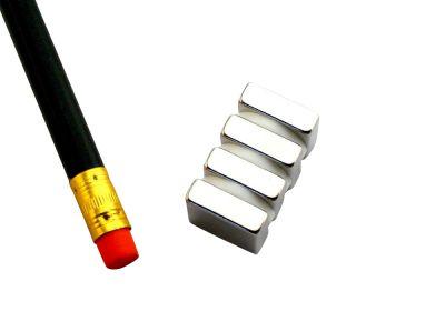 4 St?ck 15 mm x 15 mm x 5 mm Neodym Magnete