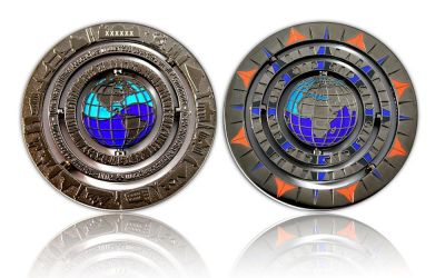 Geocaching - 10 Jahre Geocoin - Black Nickel