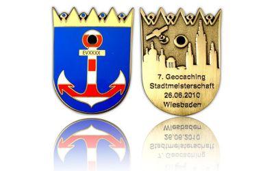 Stadtmeisterschaft 2010 Geocoin Antik Gold LE