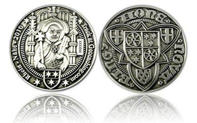 Rhein-Nahe Geocoin 2009/2010 Antik Silber