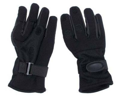 Neopren Fingerhandschuhe schwarz