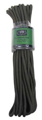 Kommando Seil 15 m oliv