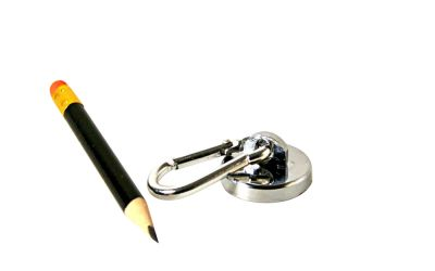 1 Stück 28 mm Neodym Karabiner Magnet