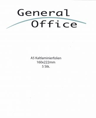 Kaltlaminierfolie DIN A5 (5 St?ck)
