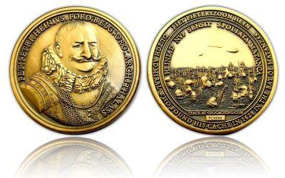 Piet Heyn Geocoin Antik Gold