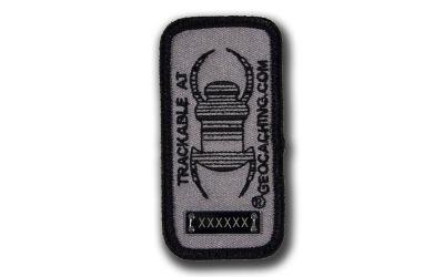 Travelbug® Patch Trackbar dunkel