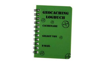 Spiral Geocaching Logbuch A7 Grün -DEUTSCH-