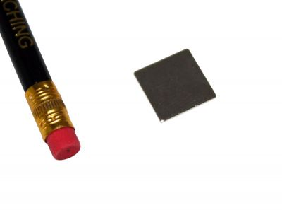 1 Stück 15 mm x 15 mm x 1 mm Neodym Magnet