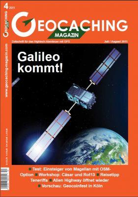 Geocaching Magazin 04/2011 Juli/August