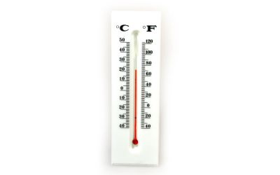 Thermometer Geocaching Versteck
