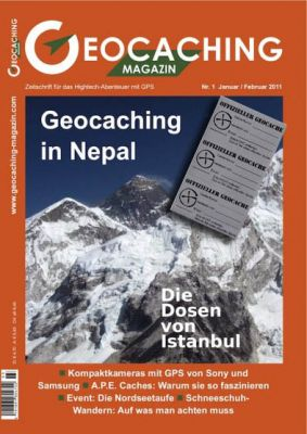 Geocaching Magazin 01/2011 Januar/Februar