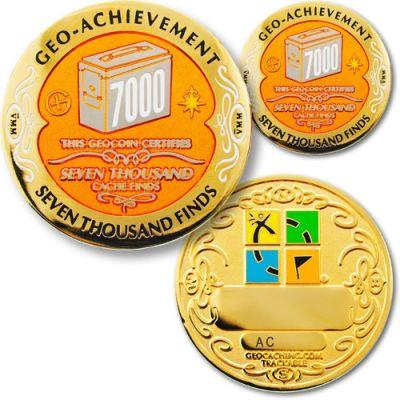 Geo Achievement Award Set 7000 inkl. Pin
