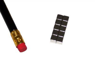10 St?ck 5 mm W?rfelmagnet Neodym Magnete