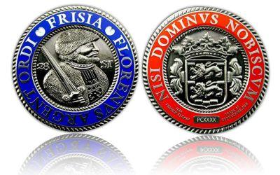 Frisia Geocoin Antik Nickel