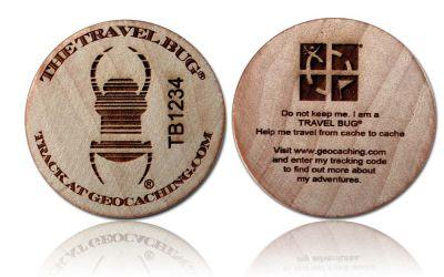 Groundspeak Travelbug® GeoTimber (2er)