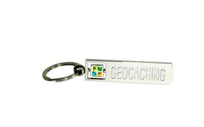 Geocaching.com Schl?sselanh?nger rechteckig