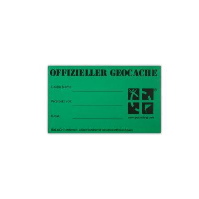 Original Geocaching.com Aufkleber mittel (1 St?ck)