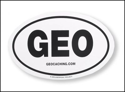 GEO (geocaching.com) Aufkleber
