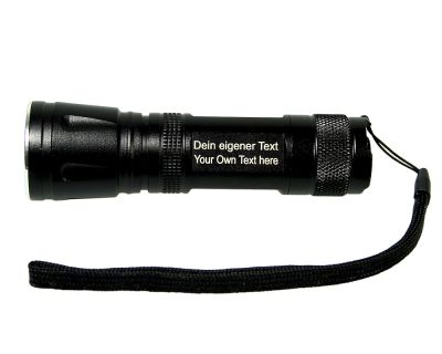 CacheFire® UV FOCUS Lampe mit Gravur