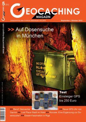 Geocaching Magazin 05/2012 September/Oktober
