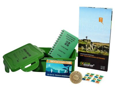 Geocaching Starter-Set | Cache Kit GeoStart