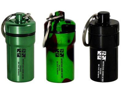 NACRO Cache Behälter -SET 3 Stück- schwarz/camo/grün