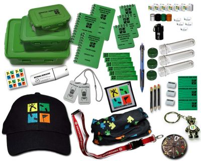 Geschenk Set Geocaching Kit Crystal