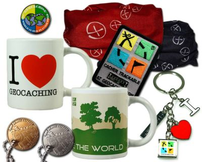 Geschenk Set Geocaching Kit Encounter