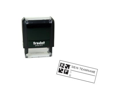 Geocaching Stamp Printy Rectangle 38x14
