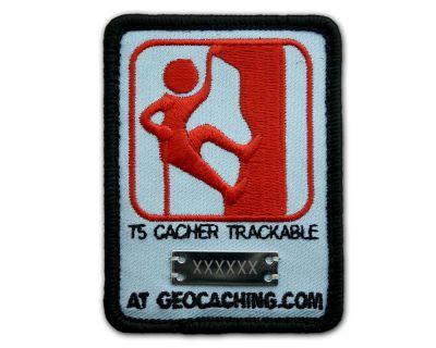 Trackbarer T5 Kletterer Patch