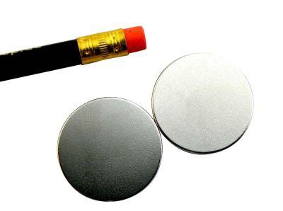 2 Stück 28 mm x 2 mm Scheibenmagnet - Neodym Magnete