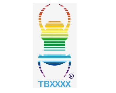 Regenbogen Travelbug Fensteraufkleber (wiederabl?sbar)