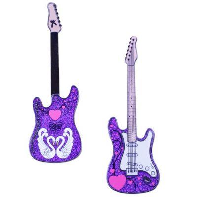 Limited Edition - Heart of Rock & Roll Geocoin - Purple