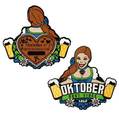 Groundspeak Oktoberfest Geocoin (Annie)