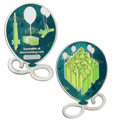Limited Edition - Block Party Geocoin 2013 inkl. TAG