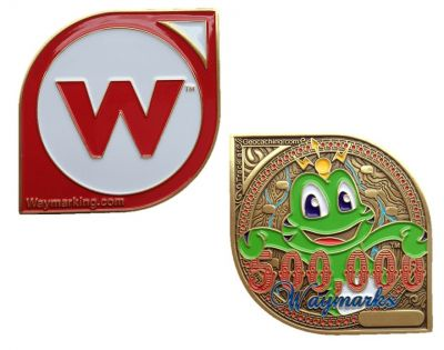 Special Edition Waymarking 500k Geocoin