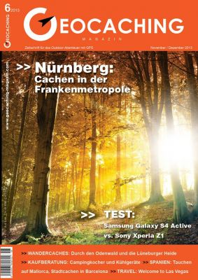 Geocaching Magazin 06/2013 November/Dezember