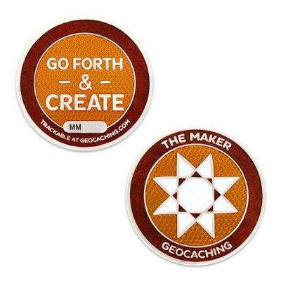 Geocaching.com Maker Madness Geocoin