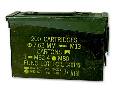Kleine Munitionskiste