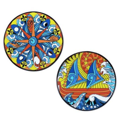 The Polynesian Compass Rose Geocoin®