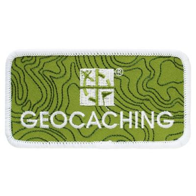 Groundspeak Geocaching.com Logo Patch / Aufnäher