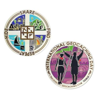 Special Edition - International Geocaching Day Geocoin 2014