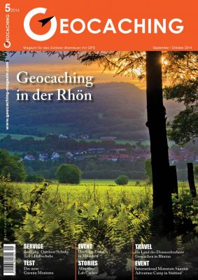 Geocaching Magazin 05/2014 September/Oktober