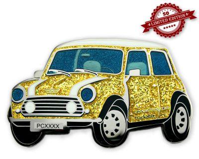 Geo-Mini Geocoin Gold Glitter XLE 50