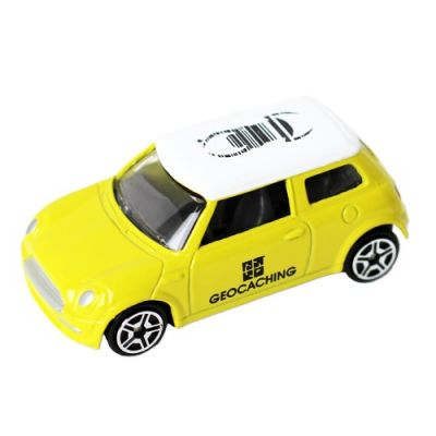 Travelbug® Mini Cooper Gelb