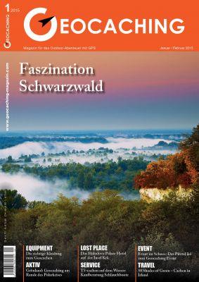 Geocaching Magazin 01/2015 Januar/Februar